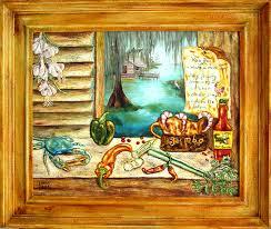 kitchen paintingsLouisiana Kitchen Southern Art Paintings  New Orleans Art