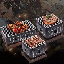 Lò Cacbon Thực Phẩm Nhật Bản Hàn Quốc Cầm Tay Bếp Nướng Lò Nấu Ăn Vỉ Nướng  Cồn Vỉ Nướng BBQ Gia Dụng