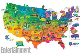 The United States of Movies: The most ...