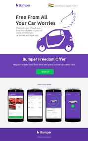 Car Painting Design App Bumper Car Repair Service App Landing Page Design On Behance