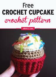 Crochet Cupcake Pattern Free