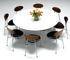 modern round dining table set marvelous modern round dining table for 8 white dining room table modern round dining table