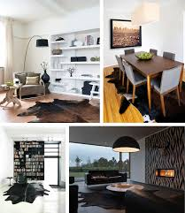 ... Living Room Decoration Using Entrancing Home Interior Decoration With Cowhide  Rug : Handsome Ideas For Home Interior Decoration Ideas Using ...