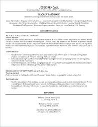 preschool resume samples resumes examples for teachers teacher assistant of resume sample