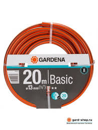 <b>Шланг Gardena</b> Basic <b>13 мм 1/2</b> х 20 м 18123-29.000.00 - Шланги ...
