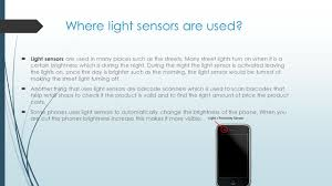 Sensors Used In Street Lights Light Sensor By Uzair Aakhoon Checked By Talal Introduction
