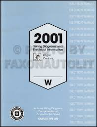 2001 buick century wiring diagram 2001 image 2001 buick regal and century wiring diagram manual original on 2001 buick century wiring diagram