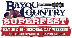 Bayou Country Superfest Seating Chart 2016 2019 Bayou Country Superfest To Comprise Kenny Chesney