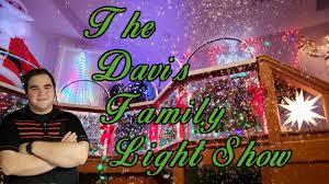 Davis Family Christmas Lights Indoor Christmas Spectacular The Davis Family Light Show Amazing