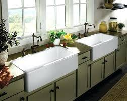 Farmhouse Double Sink Farmhouse Kitchens White Farmhouse Double Sink