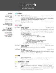 Well Designed Friggeri Resume Cv