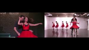 Paradise In The Dashboard Light Glee Gleedom Paradise By The Dashboard Light Glee Dance Comparison