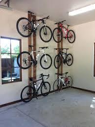 bike rack garage ideas garage bike storage ideas home remodeling and renovation