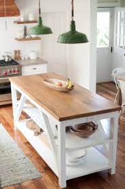 farmhouse kitchen industrial pendant. 70 Types Mandatory Chic Industrial Farmhouse Kitchen Rectangle Shape White Island With Brown Wooden Top Display Shelves Cabinet Green Rustic Pendant Lamps