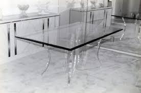 clear acrylic furniture. handmade clear acrylic table furniture