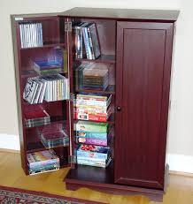 Cherry Wood Dvd Storage Cabinet Dvd Storage Cabinet To Support Your Home Entertainment Spot