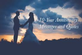 10 Year Anniversary Quotes Stunning 48Year Wedding Anniversary Messages And Quotes Holidappy