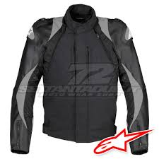 alpinestars falcon leather textile jacket