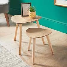 elegant style malmo nest of 2 table tea