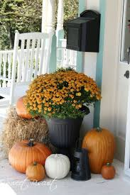 Fall Porch Decorating 117 Best Autumn Front Porch Images On Pinterest