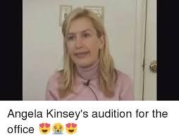 綱 Angela Kinsey s Audition for the fice 😍😭😍