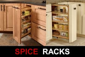 Roll Out Pantry Cabinet Kitchen Pull Out Spice Rack For Deliver More Goods To You