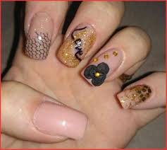 Flower Nail Art Designs Step by Step - Nail and Hair Care Tips and ...