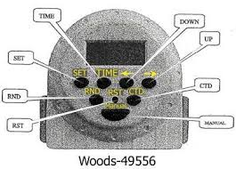 instructions for woods indoor timer 50001 fixya waterheatertimer org pdf woods 49556 td1300 pdf the manual