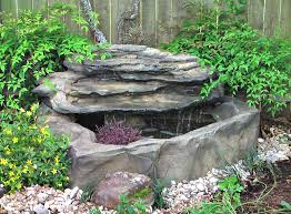 Small Picture Patio Deck Garden Pond Waterfall Kits Backyard Fountains