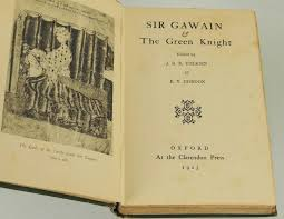 sir gawain and the green knight j r r tolkien e v gordon  sir gawain and the green knight