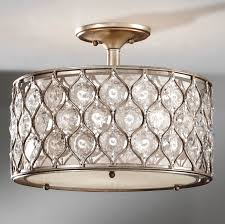 murray feiss sf289bus crystal lucia semi flush ceiling fixture