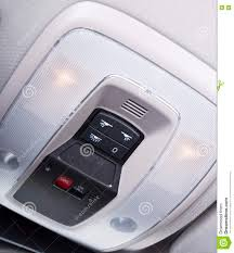 What Is The Dome Light In A Car Car Interior Light Panel On The Top Stock Image Image Of