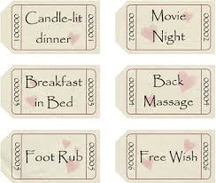 Make My Own Coupon Romantic Coupons To Download Personalize And Print