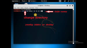 How To Create A Directory How To Create Folder And Text Document In Kali Linux Tech Update