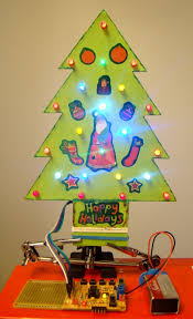 making a mini led christmas tree embedded lab led christmas tree