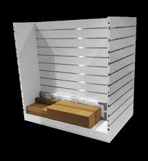 wall shelf with front lip lovely retail displays