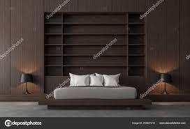Moderne Zeitgenössische Loft Schlafzimmer Render Sind