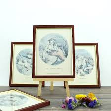 old wooden frame antique wood antique frame old engraving four seasons frames romantic frames
