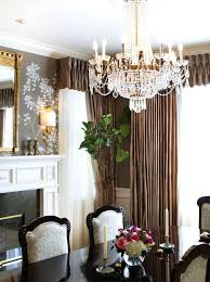 chandeliers crystal chandelier dining room home silver mist hanging crystal drum shade chandelier dining room