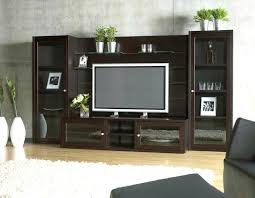 large black entertainment center large black wooden wall unit entertainment center with racks and dark wood