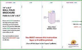 Quad Fold Brochure Template Word Four Fold Brochure Template Word Njswest Com
