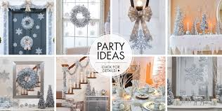 ... Silver Winter Wonderland Theme Party  Party Ideas.