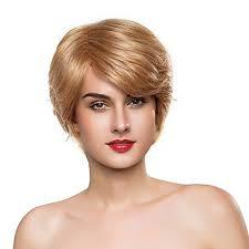 Paruka Na Vlasy Bez Vlasů Přírodní Vlasy Kudrny Střih Pixie Krátké