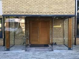 frameless doors bi folding patio doors