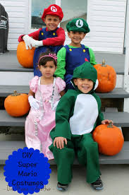 diy childrens super mario costumes