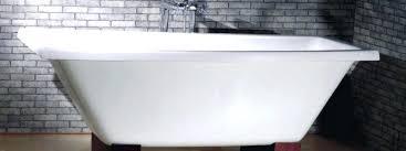 how to paint a cast iron bathtub refinish cast iron bathtub a paint inside of cast