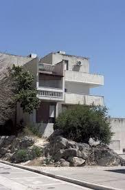 Summertime Split Modernist Architecture With A Mediterranean