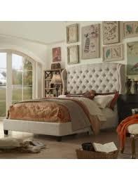 felisa upholstered panel bed. Exellent Upholstered MULHOUSE FURNITURE FELISA UPHOLSTERED PANEL BED Inside Felisa Upholstered Panel Bed