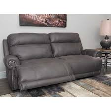 ashley power recliner sofa. Austere Grey Power Reclining Sofa J1 384prs Home Decor Ashley Recliner Leather Furniture E