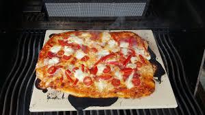 weber grill pizzastein vorheizen